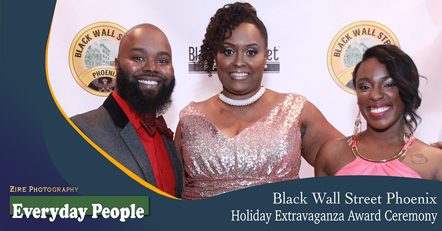 Black Wall Street Phoenix Holiday Extravaganza Award Ceremony